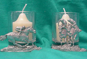 Horse Racing Votive Candles