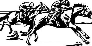 STRETCH DRIVE HORSERACING DECAL