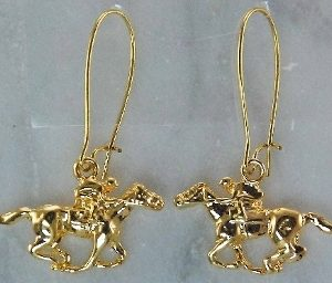 HORSE RACING GT EARRINGS