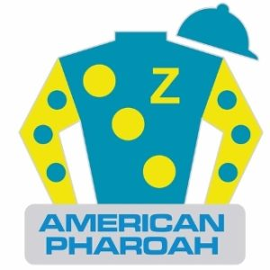 AMERICAN PHAROAH SILKS PIN