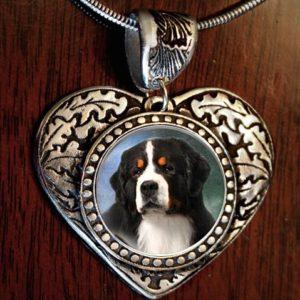 Bernese Heart Necklace2