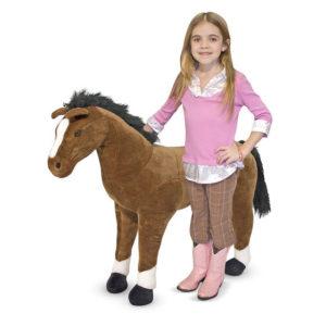 Large Plush Horse