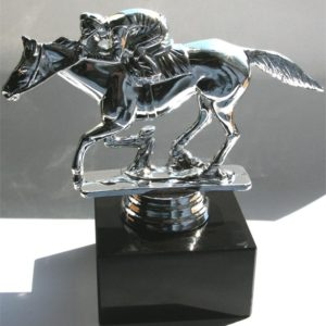 RACEHORSE JOCKEY PARTY TROPHY
