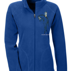 Secretariat Fleece Zip Jacket Blue