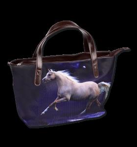 GREY HORSE HANDBAG