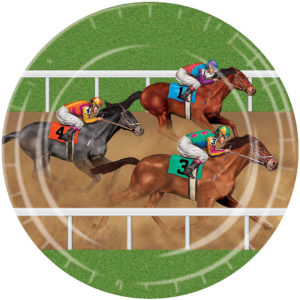 Horse Racing Party Plates
