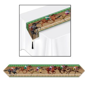 Horse Racing Table Runner